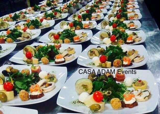 Meniu Casa Adam Events